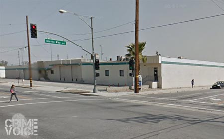 Valdepena lost control and collided with a building at Sierra and Rialto in San Bernardino.