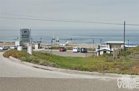 The Surf Beach Amtrack station in Lompoc