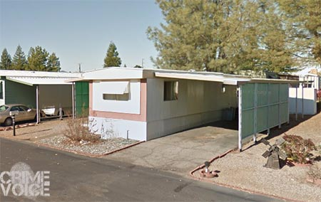Brian Willis' mobile home in 2011 (Google Maps)
