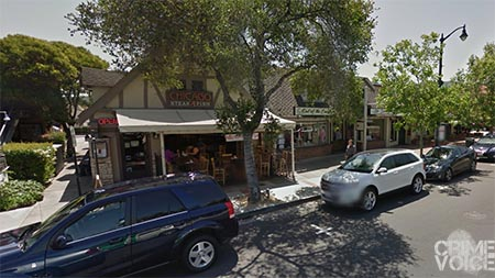 The incident occurred outside Chicago Steak & Fish Restaurant in Los Gatos late Saturday night and into Sunday morning.