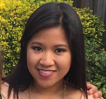 Victim Danica Bascos from the GoFundMe page for her family.