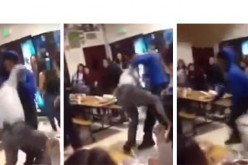 Principal Body Slammed to Ground during Sacramento High School Brawl