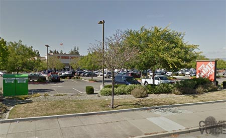 Farmer was found sleeping in his car in this Home Deport parking lot