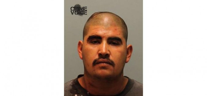Domestic Violence Suspect Grabbed After Vehicle Pursuit