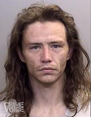 Charlie Crawford - Mendocino County booking photo.