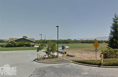 The suspects were last seen in the area of the soccer fields on Constitution Blvd.