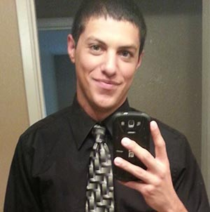 The victim, Zachary Kane - image from Facebook.