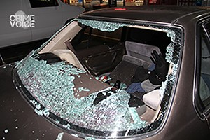 Photo of the victim's car