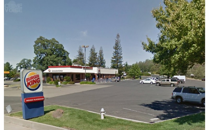 Sonora Burger King robber still at large