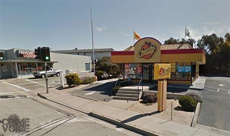 The incident occurred at Church's Chicken on Fremont in Seaside.