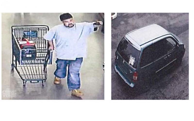 Petaluma PD Releases Burglary Photos of Suspect and Suspect Vehicle