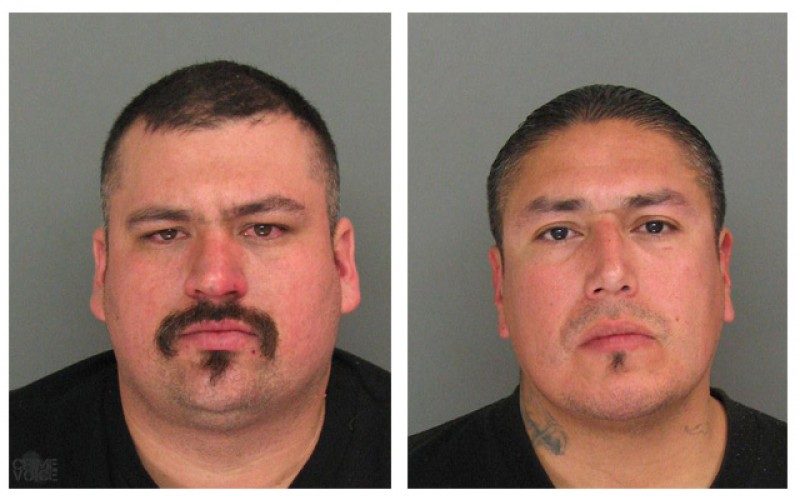 Area Check Leads to Arrest of Two Gang Members