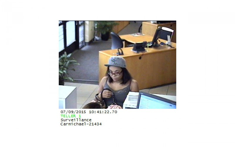 Young Woman Due Six-Year Sentence for Bank Robberies