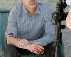 Bystander also shot (Redlands Daily Facts)