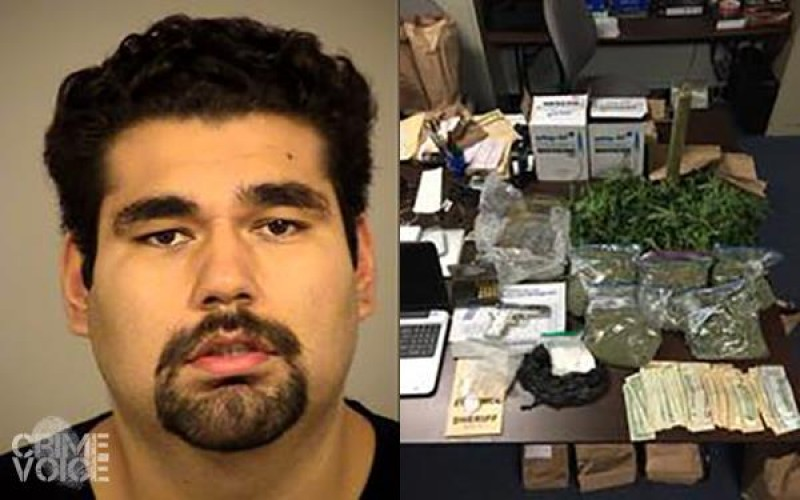 Coke & Cannabis Dealer Busted
