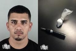 Probation Violator Found with Meth and Burglary Tools