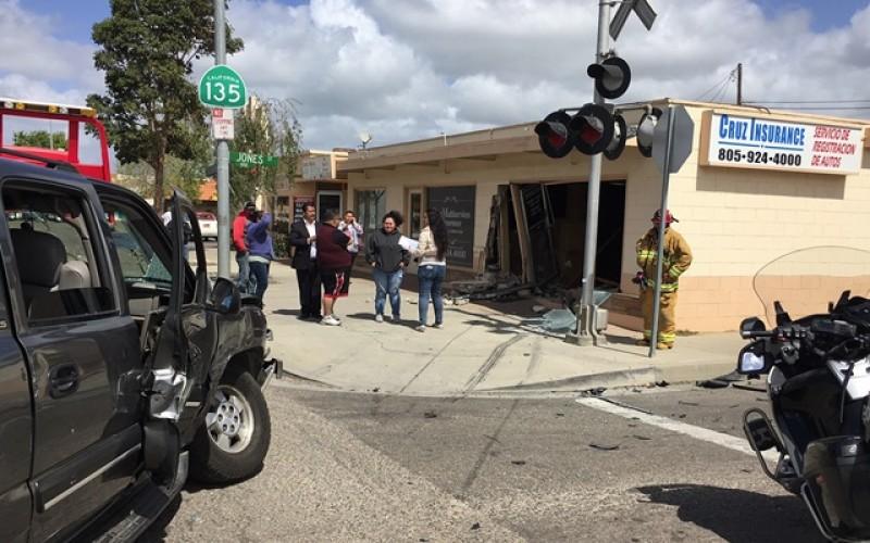 Senior Driver Causes Havoc and Injuries in Crash