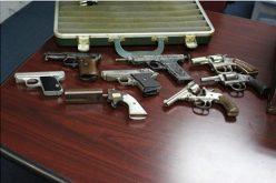 Cops Bust 20 on Drugs & Guns