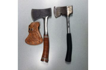 Arrested for Campground Axe Attack