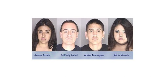 Six Gang-bangers Busted