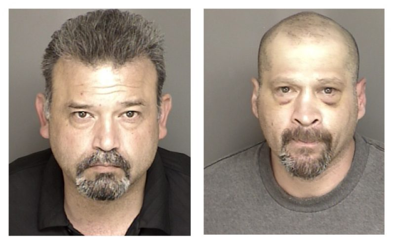 Search Warrant Nets Two for Possession