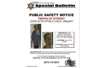LA Detectives Ask for Help Searching for Sexual Assault Suspect