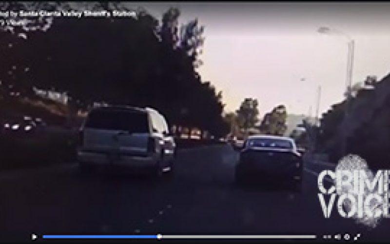 Road Rage Suspect Shoots Cadillac Escalade SUV