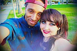 Rahkeem Reyes and Christina Oliver