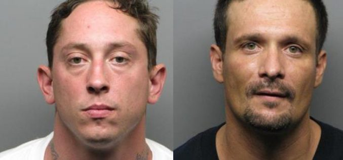 Two Arrested After Jumping Freeway Wall