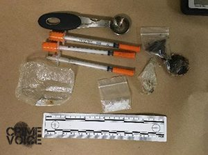 Police display confiscated drugs