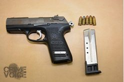 Loaded 9mm Seized at Edison High School