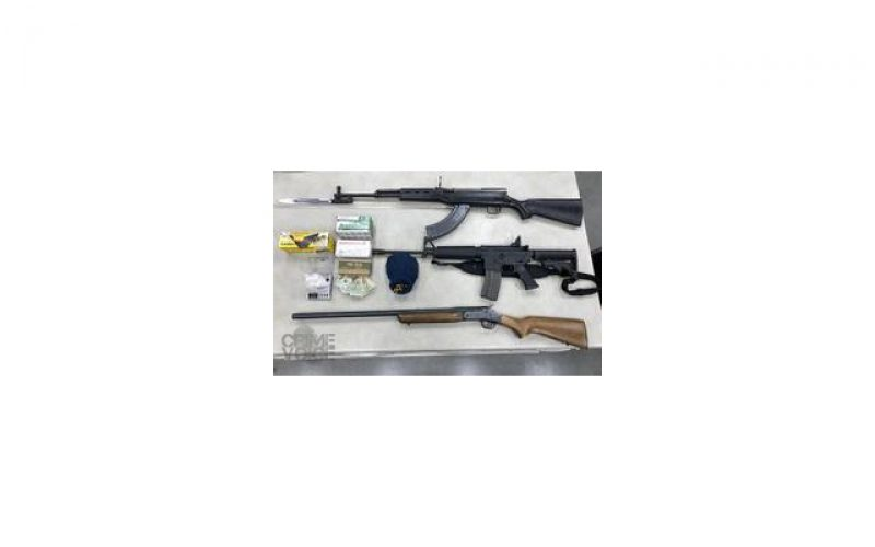 Traffic Stop Leads to Guns, Drugs