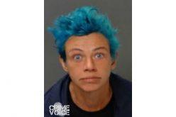 Lady Sprays the Blues, Vandal Arrested