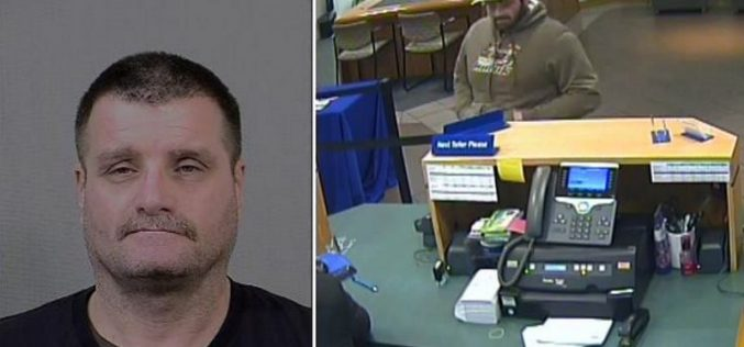 Sacramento Man Arrested for Bank Robbery