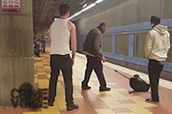 Man Assaults Victim in the Hollywood Metro Station