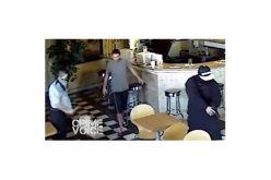 2 Juveniles in Custody, 1 Adult on Loose in Cafe Armed Robbery