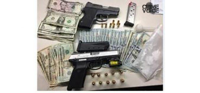 'Equipment Violation' Leads to Drugs, Guns Arrest