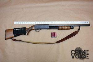 Fresno Police display confiscated gun