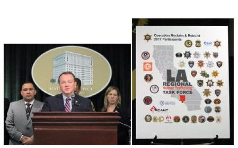 "3-Day Human Trafficking Task Force ""Operation Reclaim and Rebuild"" Arrests 474 Suspects"