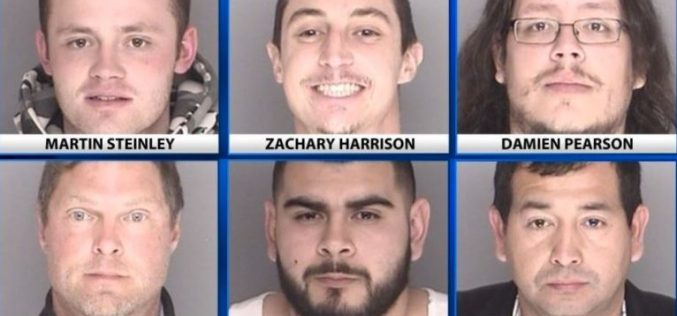 Six Johns, Three Pimps Caught in Statewide Human Trafficking Sting