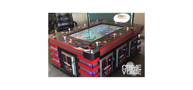 Illegal Gambling Bust