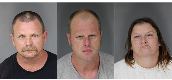 Bakersfield Trio Caught with 2 Pounds of Meth En Route to Humboldt County