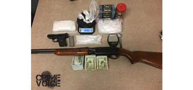 2 Guns, Meth lead to Two Arrests