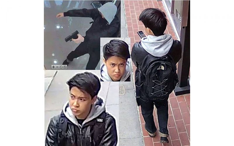 San Francisco Robbery Suspect Caught on Camera