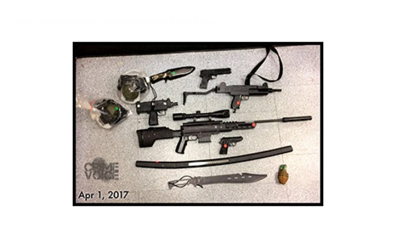 Replica Rifle Murder Threats in Hollywood