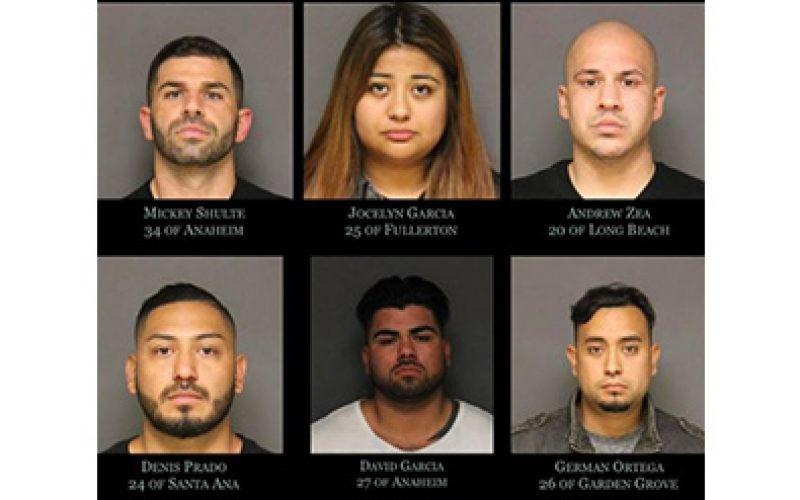 6 Arrested in Drug Bust