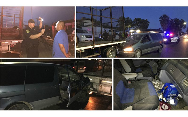 Drunk Driver Arrested after Collision in Madera