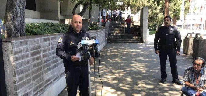 San Jose Police shoot knife-wielding suspect