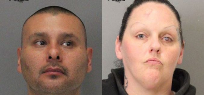 Couple found with stolen truck, fake IDs