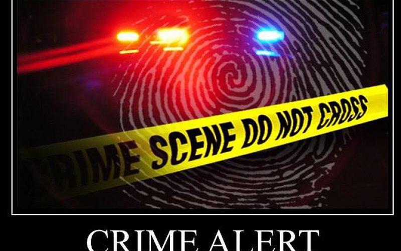 Crime Alert – Smash and Grab Burglary